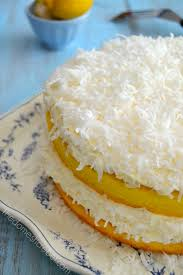 guiltless lemon coconut cake the domestic rebel