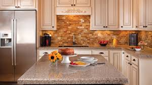 Popular Colors To Paint Kitchen Cabinets Kitchen Simple Small Flowers Decor Tile Backsplash Model Usual