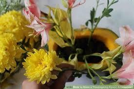 thanksgiving flower arrangement how to make a thanksgiving flower arrangement 7 steps