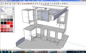 Sketchup Kitchen Design Kitchen Designs How To Create Kitchen Cabinets In Sketchup L