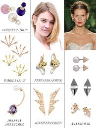 earrings trends top jewelry trends 2013 editorialist