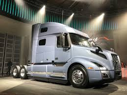 volvo track volvo takes wraps off new vnl truck news