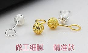s hypoallergenic earrings s gold color car matte hook earrings flower