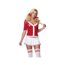 Cute Cheerleading Costumes Halloween Halloween Costumes Leg Avenue 3pc Varsity Vixen Cheerleader