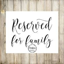 reserved signs for wedding tables reserved sign wedding reserved reserved wedding reserved