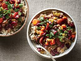 slow cooker red beans and rice cooking light kidney beans and rice recipe vegetarian best of slow cooker red