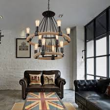 Industrial Crystal Chandelier Dramatic 8 Light Fabric Shade Modern Crystal Chandelier