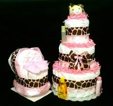 giraffe themed baby shower buy giraffe cake baby shower centerpiece set or pink theme