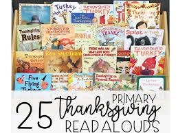 thanksgiving read alouds grade made