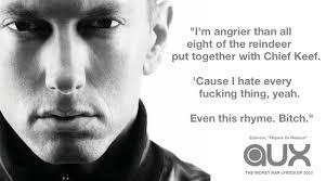 eminem xxl lyrics 20 worst rap lyrics of 2013 news bandmine com