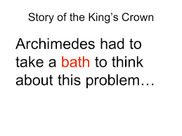 Eureka Bathtub Archimedes Bathtub Story Best Bathtub Design 2017
