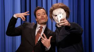 who played michael myers in halloween michael myers stops by u0027tonight show u0027 for u0027halloween u0027 rap