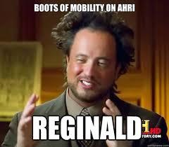Reginald Meme - boots of mobility on ahri reginald ancient aliens quickmeme