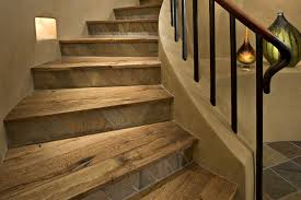 wooden vinyl plank stair treads how to apply vinyl plank stair