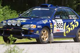 subaru justy rally dan u0027s gc8 rally car archive dirally com