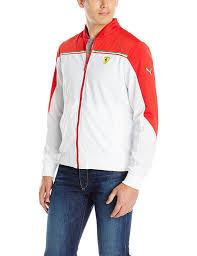 ferrari clothing men puma men s ferrari jacket white xx large at amazon men s clothing