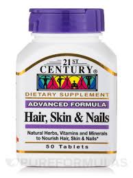 skin u0026 nails advanced formula 50 tablets