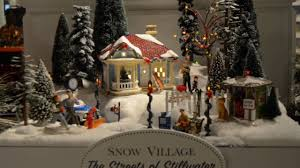 dept 56 halloween sale original snow village streets of stillwater