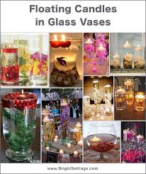 Vases With Floating Candles Floating Candles In Glass Vases The Bright Ideas Blog