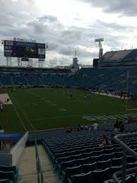 Everbank Field Map Everbank Field Section 226 Home Of Jacksonville Jaguars
