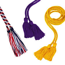 graduation cords cheap honor cords with tassels gift and premiums items manufacturer