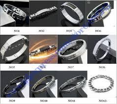 stainless steel buckle bracelet images High fashion designer brands charm bangles silver mens bracelets jpg