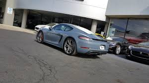 porsche chalk 2017 porsche 718 cayman s for sale columbus ohio youtube
