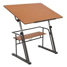 Drafting Table Wooden Drafting Table Art Desk Drawing Engineer Architect Adjustable