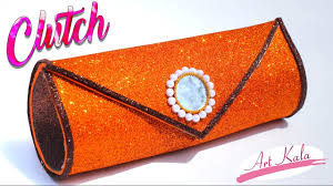 how to make clutch at home handbags for women step by step