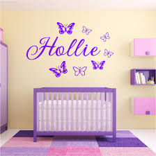 wall art red parrot signs company manchester personalised girls name butterfly wall art sticker