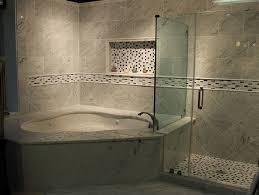 bathtubs idea inspiring corner jacuzzi tub with shower small