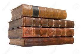 leather bound photo book pile of leather bound books stock photo picture and royalty