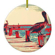white pelicans ornaments keepsake ornaments zazzle