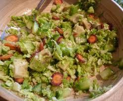cuisiner du choux vert salade de choux vert recette de salade de choux vert marmiton