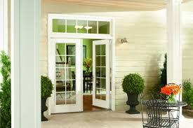 Patio Doors With Sidelights That Open Hinged Patio Doors Simonton Windows U0026 Doors