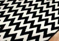 Black And White Striped Runner Rug New Black And White Striped Area Rug 50 Photos Home Improvement