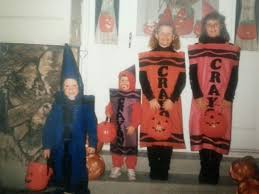 blue crayon halloween costume it just gets stranger october 2016