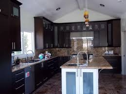 kitchen cabinets santa ana espresso kitchen cabinets with square glass doors cabinet