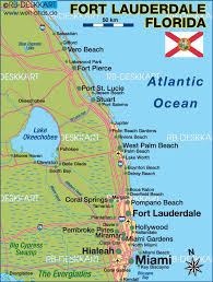 map of ft lauderdale map of fort lauderdale region united states map in the atlas
