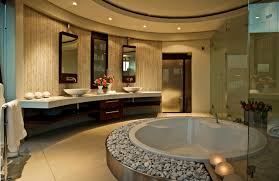 Mediterranean Bathroom Design World Of Architecture Huge Modern Home In Hollywood Style By Nico