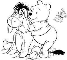 winnie pooh fall coloring pages coloring pages ideas