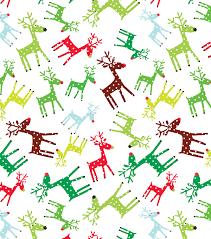 inspirations fabric polka dot reindeer joann
