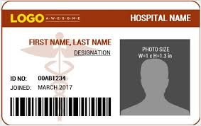 doctor u0027s photo id badge templates for ms word word u0026 excel templates