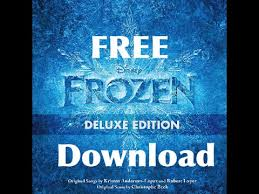 free disney frozen sound track album download