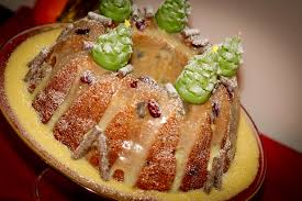christmas spiced cranberry orange and carrot bundt cake