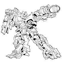transformer coloring pages optimus prime gun coloringstar