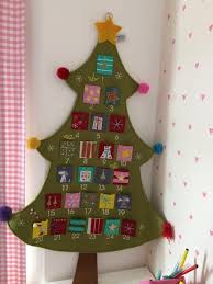 large felt tree advent calendar in bournemouth dorset