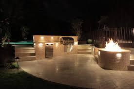 outdoor kitchen lights kitchen outdoor kitchen with undercap led lights madison nj