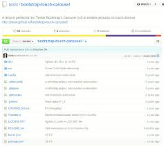 latest bootstrap carousel examples codes templates