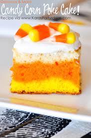 kara u0027s party ideas candy corn poke cake halloween recipe kara u0027s